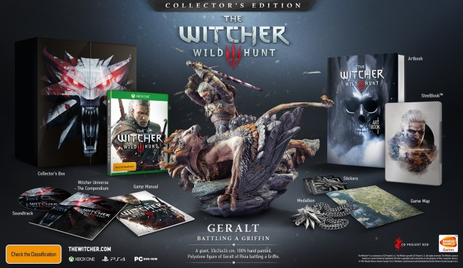 CD Projekt Red announce Witcher 3 release date and bonuses