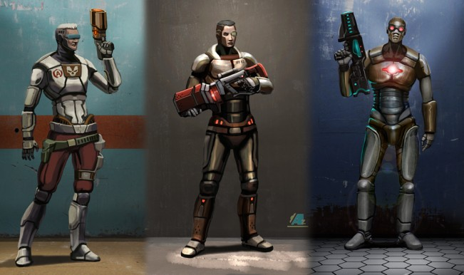 Community concept art for new Unreal Tournament unveiled