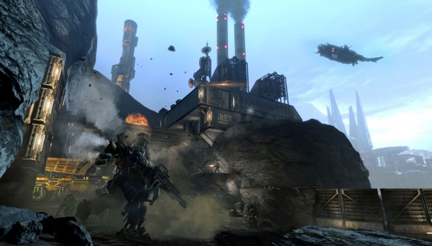 Titanfall's Dig Site Map Receives Screenshots