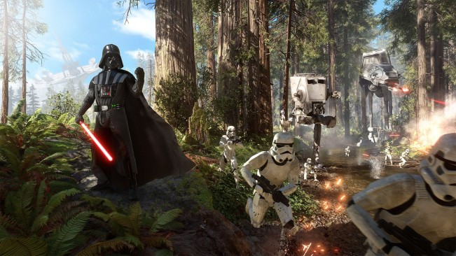 Star Wars Battlefront pre-load mini-game lets you play as Darth Vader