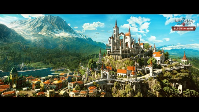 Witcher 3 Blood and Wine expansion pack gets stunning first images