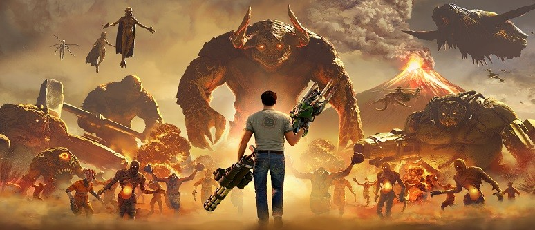 Serious Sam 4 to be released on Steam and Stadia - News