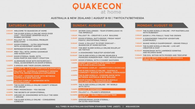 25th Anniversary of QuakeCon - QuakeCon at Home