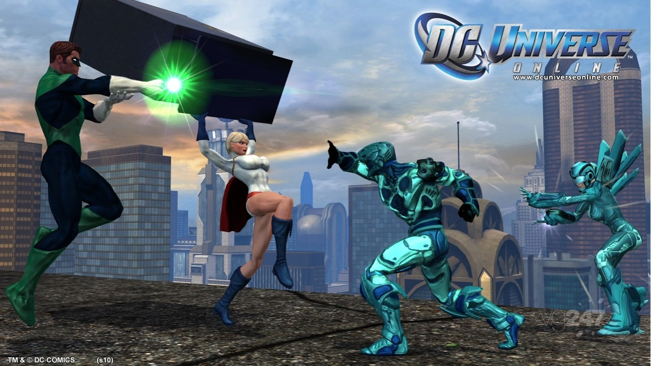 Dc universe gameplay online game