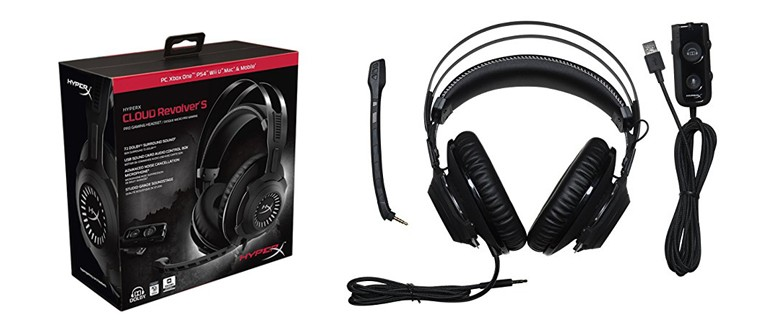 HyperX Cloud Revolver S Gaming Headset - Feature