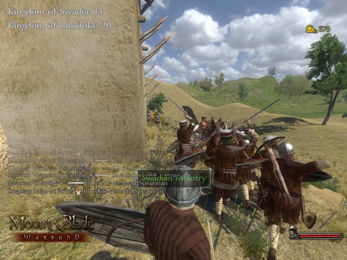 how to change realistic game mode mount and blade