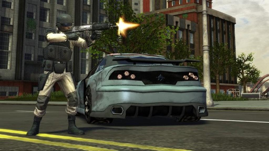 صور جديدة للعبة الحصرية للأكس بوكس Crackdown 2