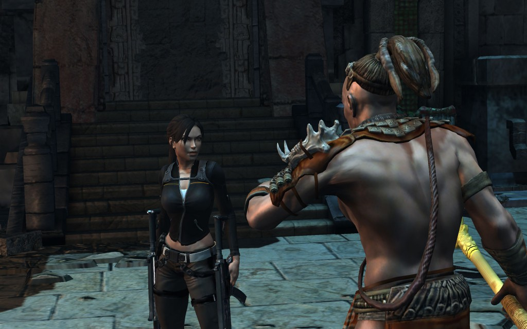 Lara Croft And The Guardian Of Light Screenshots  Hooked