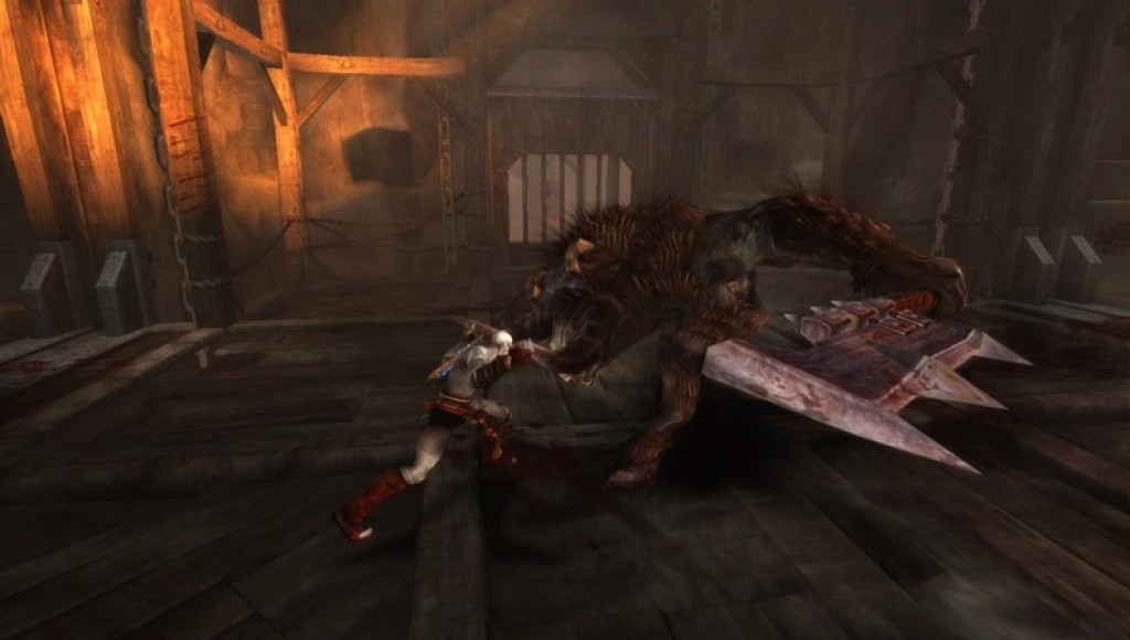 God of War: Ghost of Sparta PSP preview -