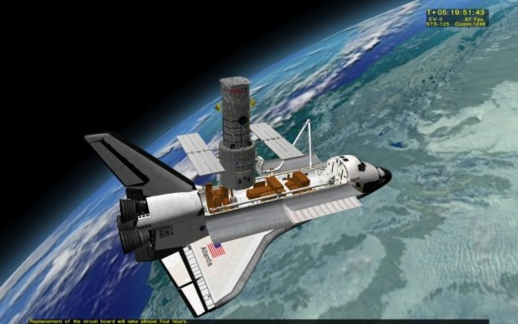 space shuttle mission simulator - photo #17