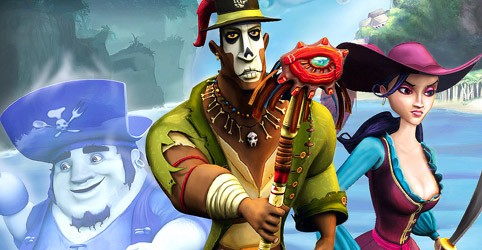 Ghost Pirates of Vooju Island review