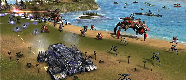 [GameGokil] Supreme Commander: Forged Alliance Single Link Iso Full Version