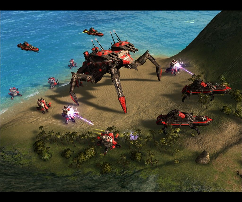 Supreme Commander Forged Alliance Screenshots Hooked Gamers