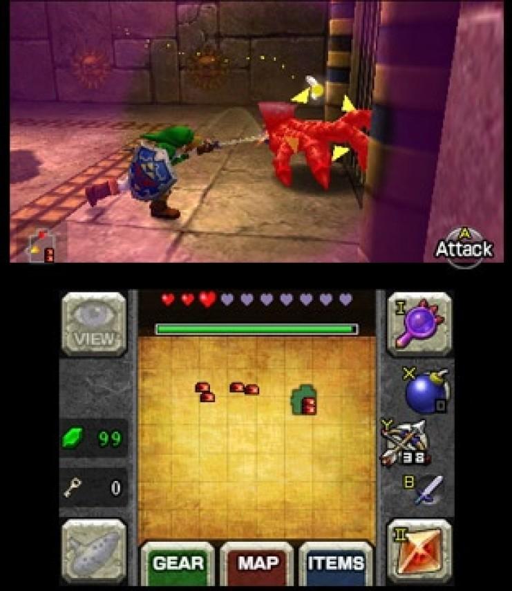 The Legend of Zelda: Ocarina of Time 3D screenshots   Hooked