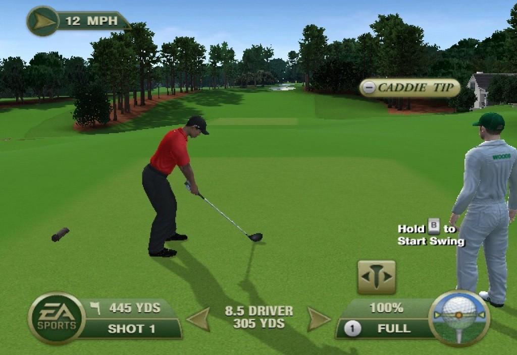 Tiger Woods Pga Tour  Wii