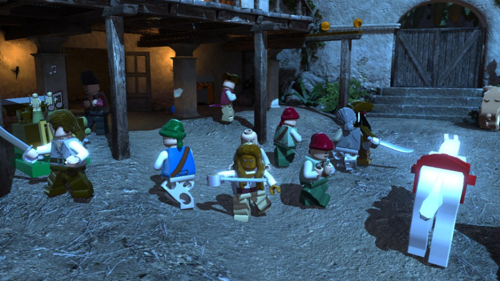 LEGO Pirates Of The Caribbean screenshots | Hooked Gamers