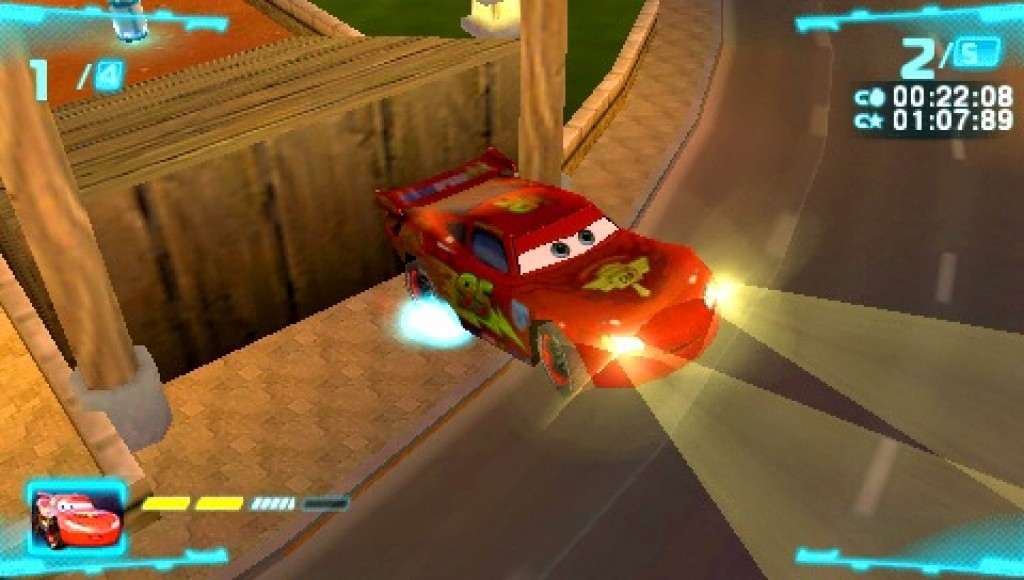 cars 2 the video game screenshots hooked gamers. Black Bedroom Furniture Sets. Home Design Ideas