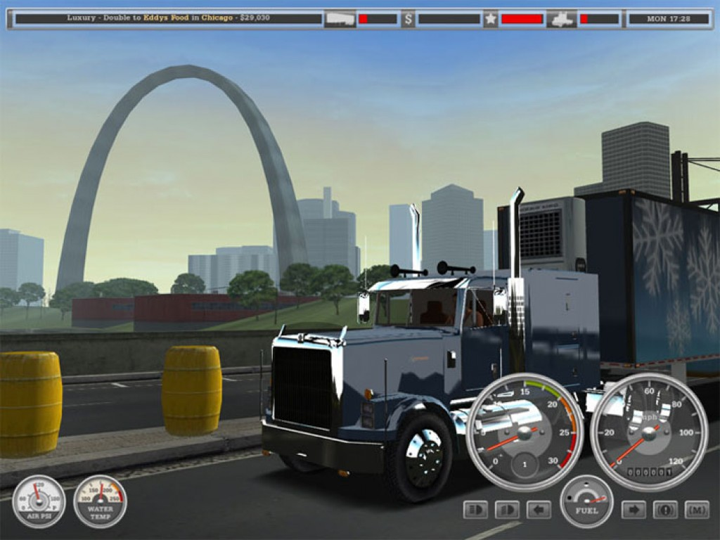 18 wheels of steel haulin full pc game