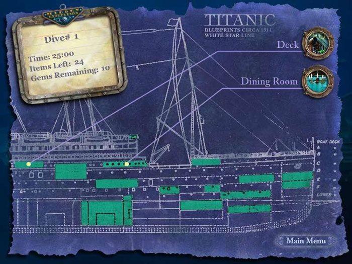 Hidden Mysteries - Titanic Germany ROM Nintendo DS