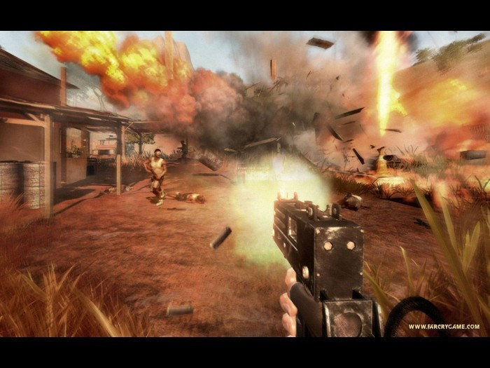 Far Cry 2 Screenshots Hooked Gamers