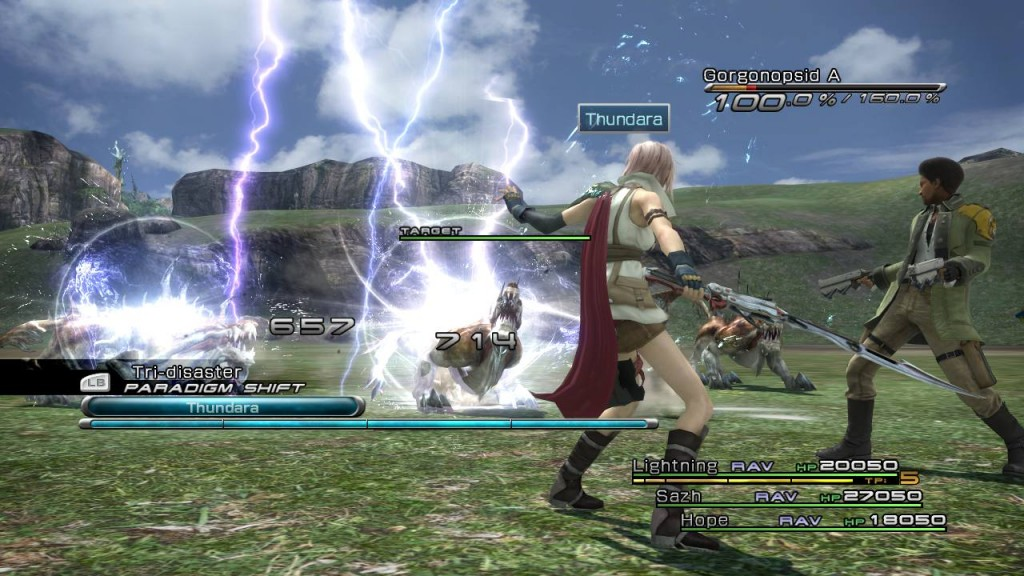 Added  Dec 10th  2009Final Fantasy Xiii Gameplay