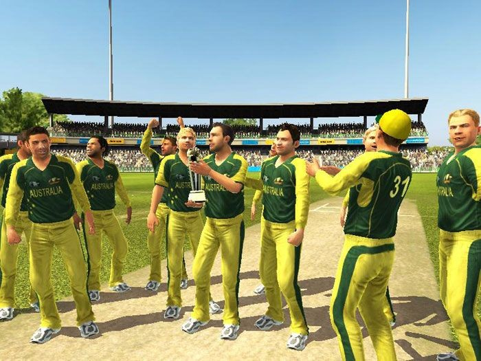 Brian lara international cricket 2007 free online game play.