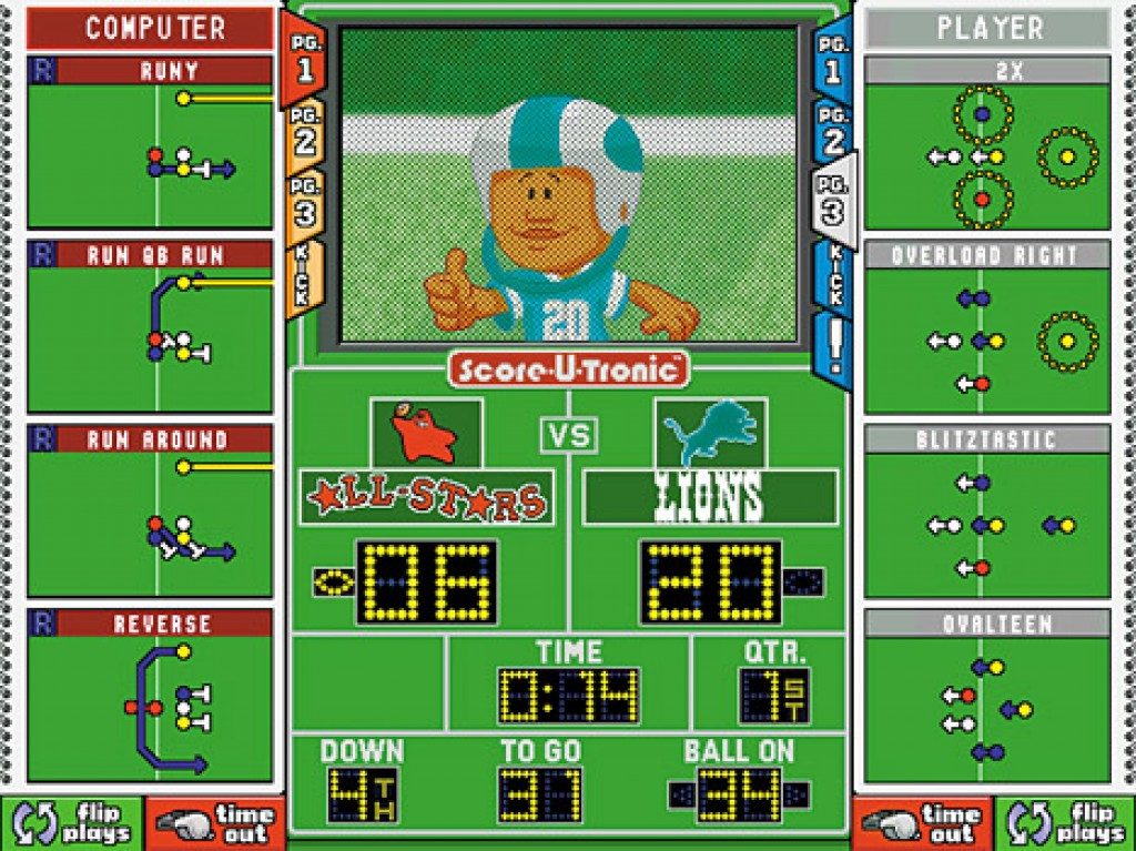 backyard football screenshots hooked gamers