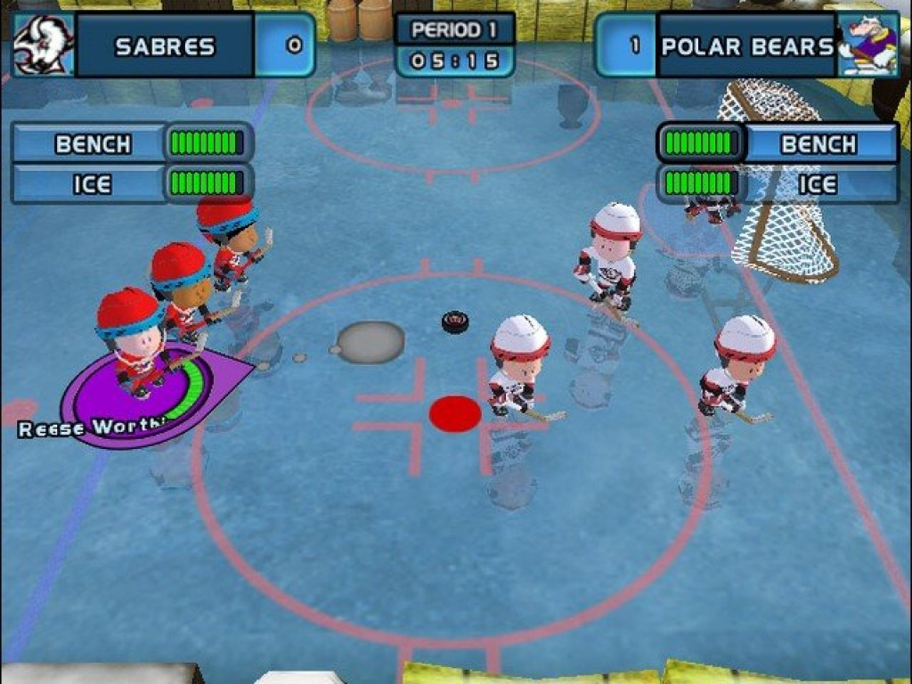 backyard hockey 2005 screenshots hooked gamers
