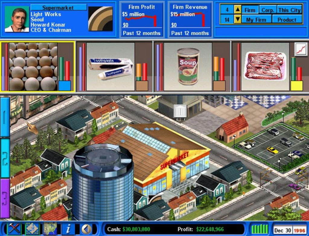 Trevor chan 39 s capitalism ii screenshots hooked gamers for Capitalism ii