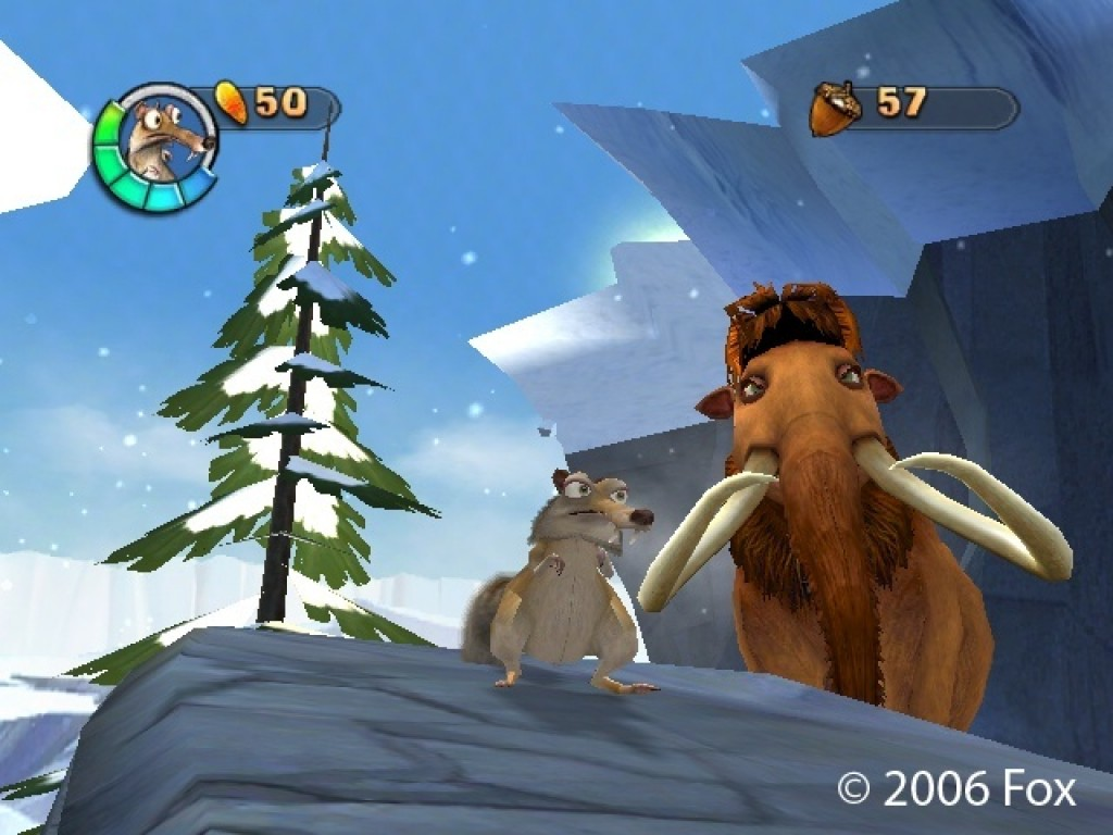 ice age 2 the meltdown screenshots hooked gamers