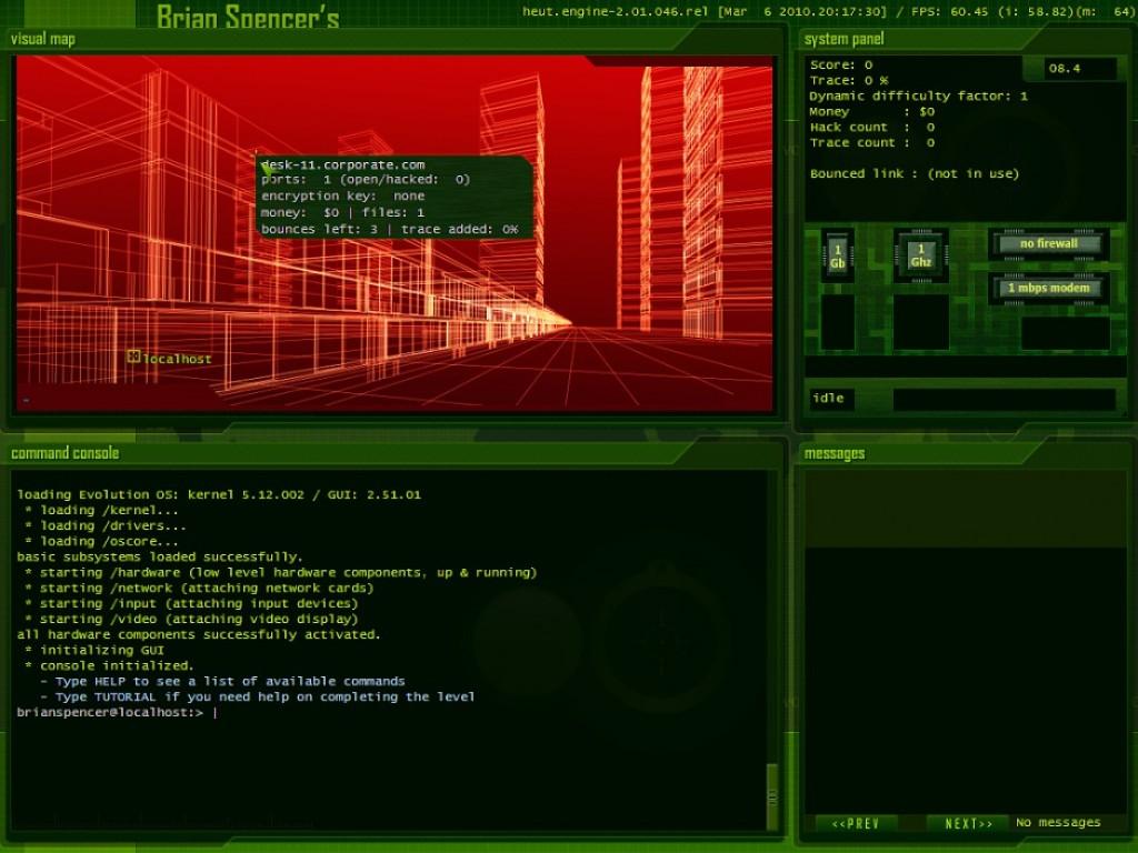 Hacker Evolution Untold screenshots | Hooked Gamers