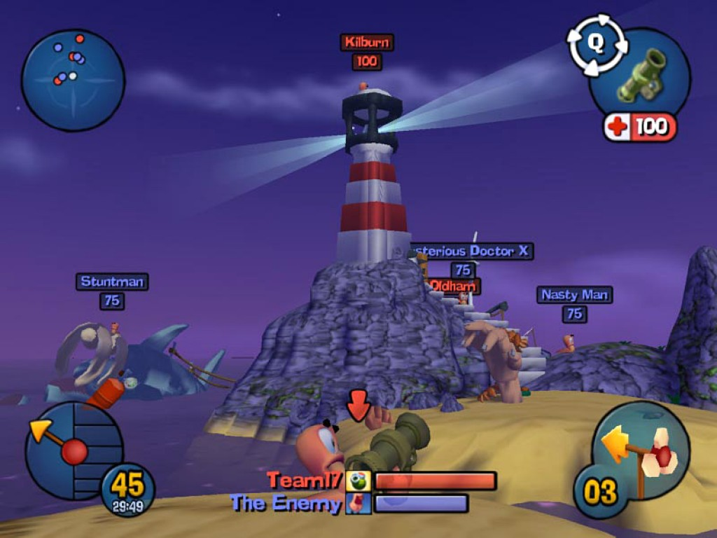 Игру Червячки 3D На Компьютер