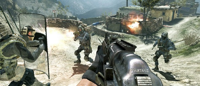 Modern Warfare 3 'Face-off'