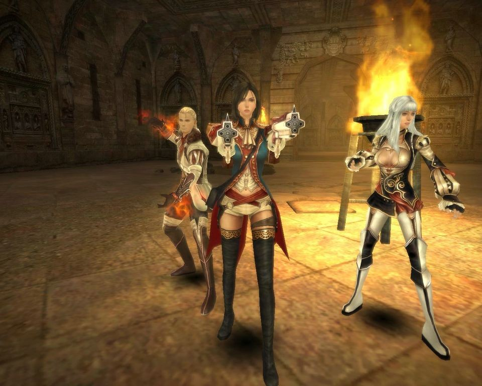 Sword Of Thenew World: Sword Of The New World: Granado Espada Screenshots