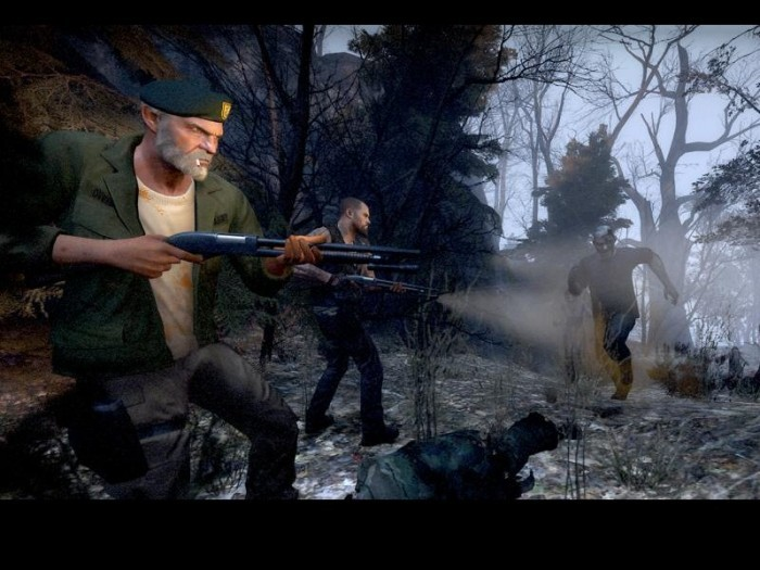 "Left 4 Dead Xbox 360 preview - ""Horror? How scary can a game get?"" Hooked Gamers"
