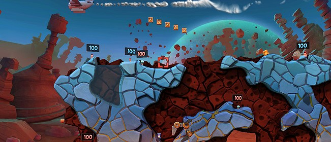 Worms Revolution: Mars Pack