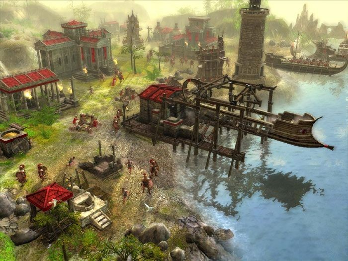 QIP Shot. Обои - Игры - Стратегии - Ancient Wars: Sparta (Войны древности: