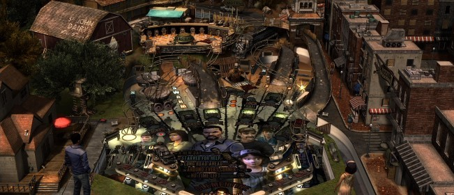 Pinball FX2: The Walking Dead Table