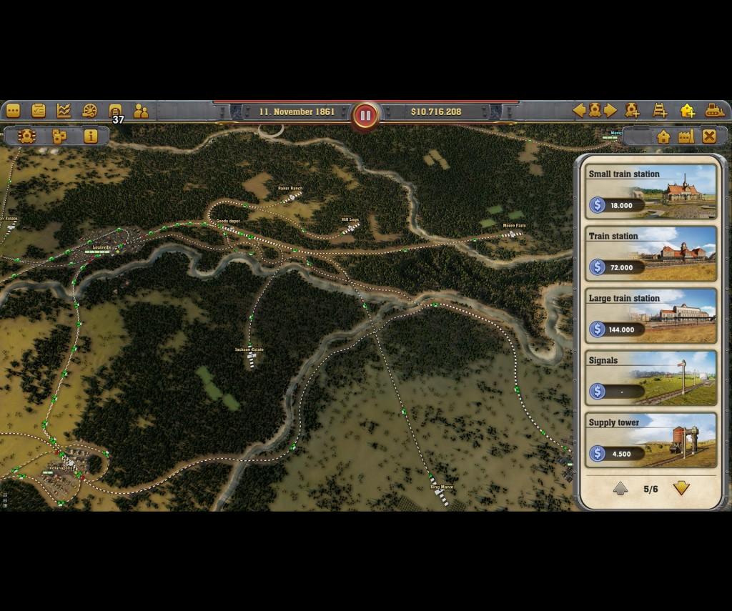 Railway Empire PC preview -
