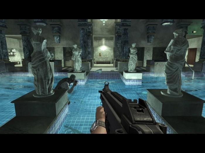 При использовании кадров из игры 007: Квант милосердия ссылка на Imhonet.ru