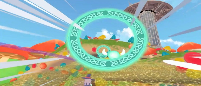 Little Witch Academia: VR Broom Racing - Review