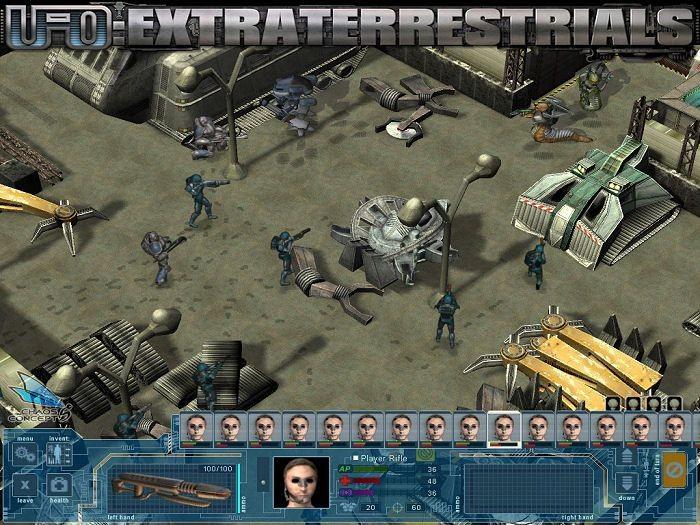 Обзор игры UFO Extraterrestrials - системные требования, а так же коды и. М