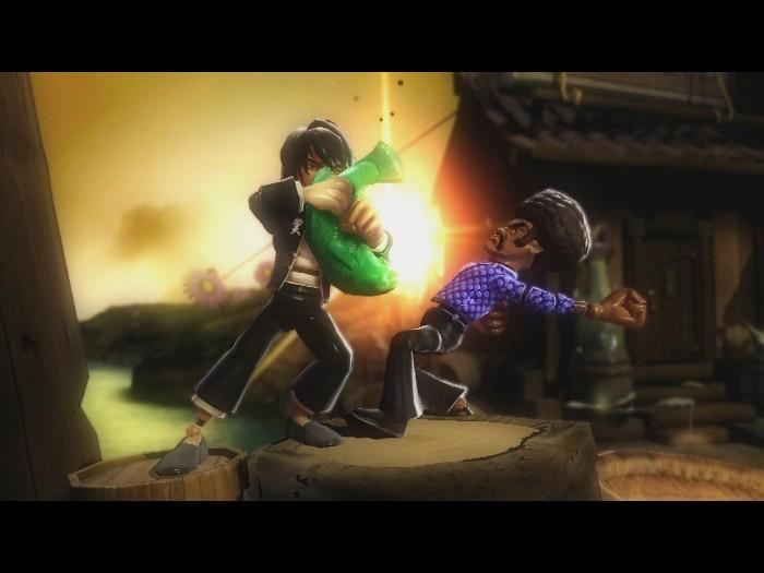 Rag Doll Kung Fu Fists of Plastic. Por extraño que parezca, el Sixaxis jue
