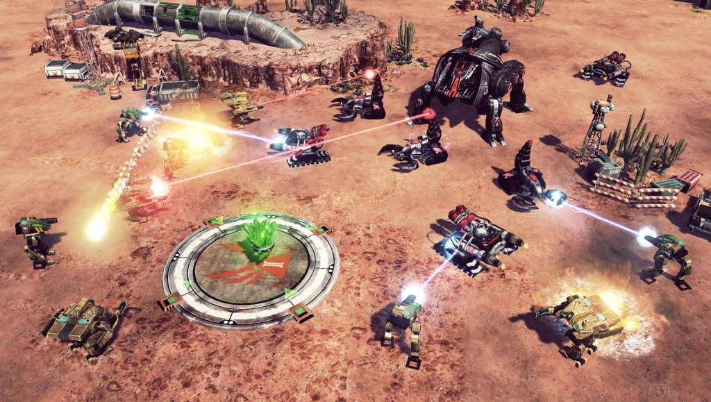 command amp conquer 4 tiberian twilight screenshots