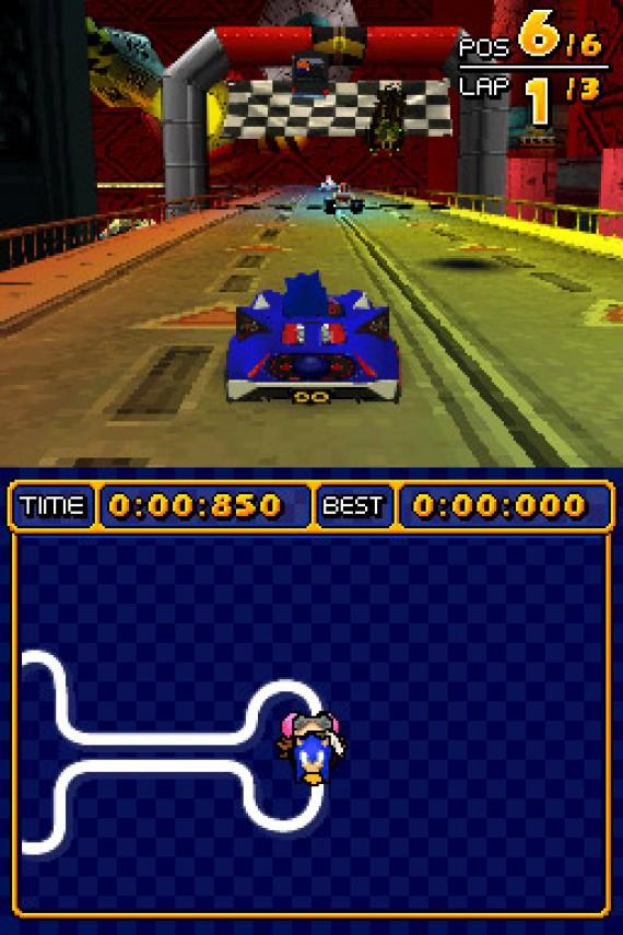 sonic racing games nintendo ds